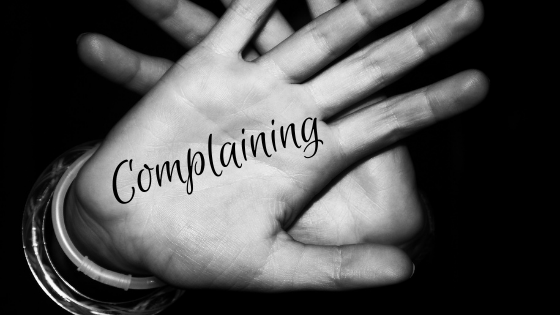 1 MINUTE MATTERS: 8 WAYS TO COMPLAIN LESS