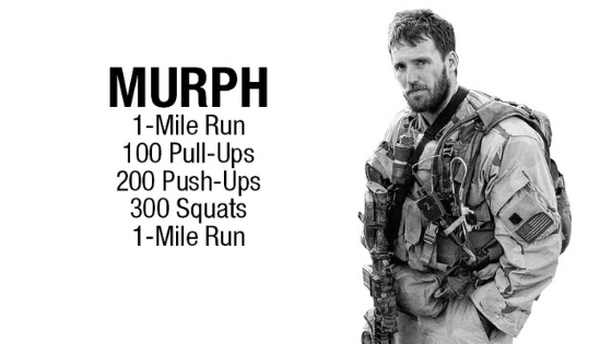 1 MINUTE MATTERS: IMPROVE YOUR FITNESS WITH THE MURPH CHALLENGE