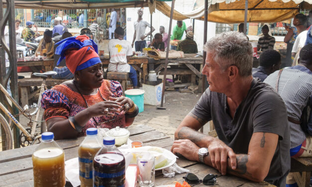 1 MINUTE MATTERS: 6 WAYS ANTHONY BOURDAIN CHANGED HOW I TRAVEL