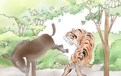 1 minute matters: the parable of the donkey & the tiger